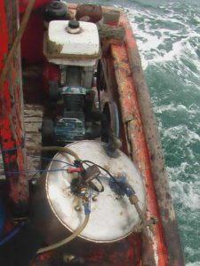 plongeur nargulié
