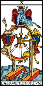 le tarot de marseille la roue de fortune