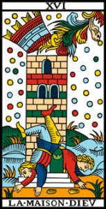 le tarot de marseille 16 la maison de dieu