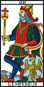 le tarot de marseille l empereur