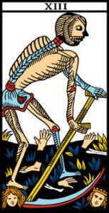 le tarot de marseille l'arcane 13